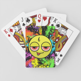 Hangover Face Playing Cards