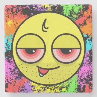 Hangover Face Stone Coaster