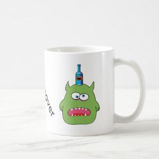 Hangover Monster and Puking Bat Coffee Mug