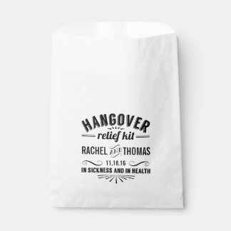 Hangover Relief Kit | Wedding Favour Bag