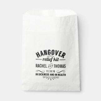 Hangover Relief Kit | Wedding Favour Bag