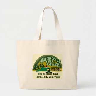Hangover Valley USA Large Tote Bag