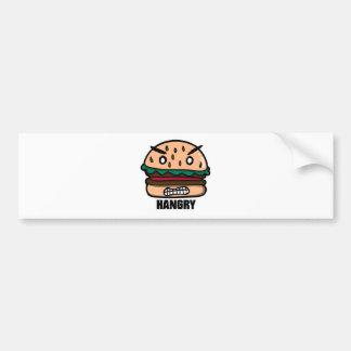 Hangry! Bumper Sticker