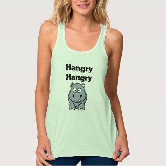 Hangry Hangry Hippo - Feed Me Singlet