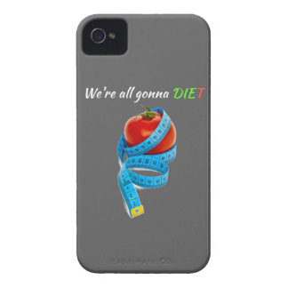 HANGRY We're all gonna die(t) Skinny on dieiting iPhone 4 Case-Mate Cases