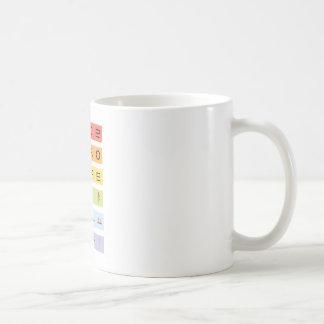 Hangul White 11 oz Classic White Mug