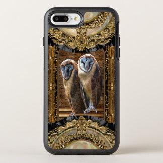 Hanivel Prey Cool Elegant Owl Pattern OtterBox Symmetry iPhone 8 Plus/7 Plus Case