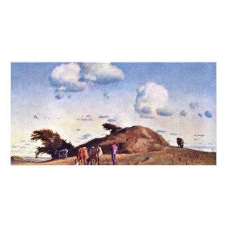 Hankehã ¸ J By Lundbye Johan Thomas (Best Quality) Photo Greeting Card