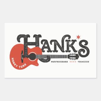 Hank's Guitar Stickers