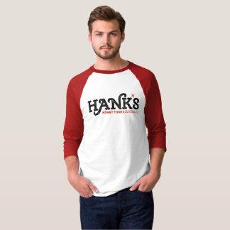 Hank's Honky Tonk 3/4 (Men's) Red T-Shirt