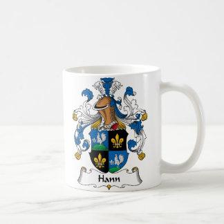 Hann Family Crest Basic White Mug
