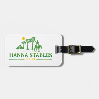 Hanna Stables Luggage Tag