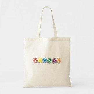 Hannah Budget Tote Bag