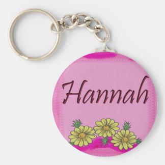 Hannah Daisy Keychain