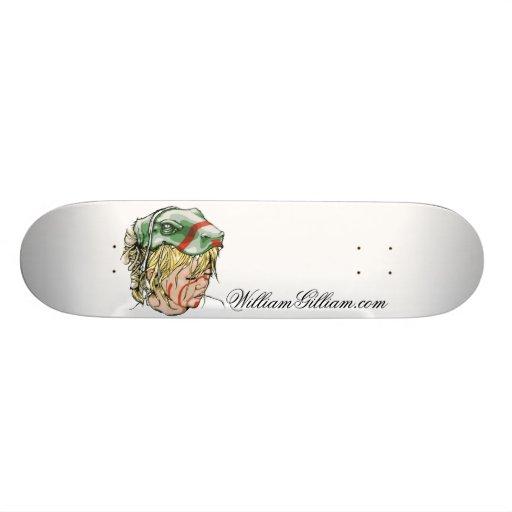 Hannah Deck Custom Skateboard