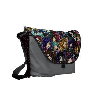Hannah Lynn Fantasy Art  Fairy Mermaid Art Bag Commuter Bag