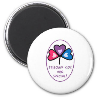 Hannah's Wish 6 Cm Round Magnet