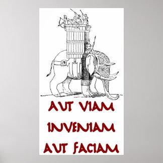 Hannibal Aut Viam Inveniam Aut Faciam Poster