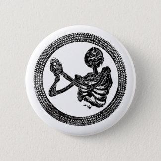 Hannibal Church Floor Skeleton Button