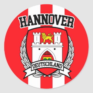 Hannover Classic Round Sticker