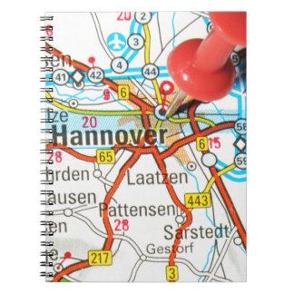 Hannover, Hanover, Germany Spiral Notebook