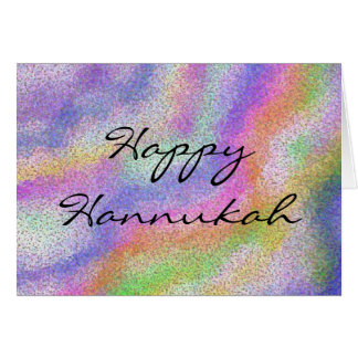 Hannukah Candle Colors Card
