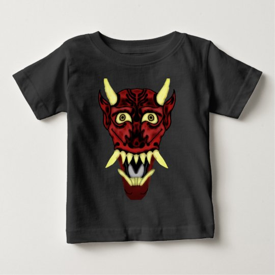 hannya demon mask baby T-Shirt