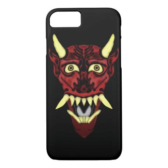 hannya demon mask iPhone 8/7 case
