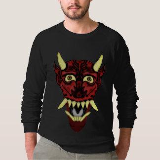 hannya demon mask sweatshirt