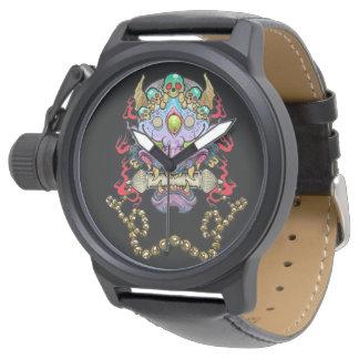 Hannya Mask Wrist Watch