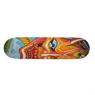hannya skateboard deck