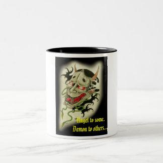 Hannya Two-Tone Coffee Mug