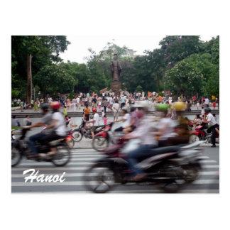 hanoi traffic post cards
