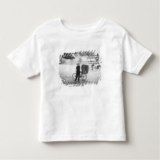 Hanoi Vietnam, Bicyle Delivery Woman (NR) Toddler T-Shirt