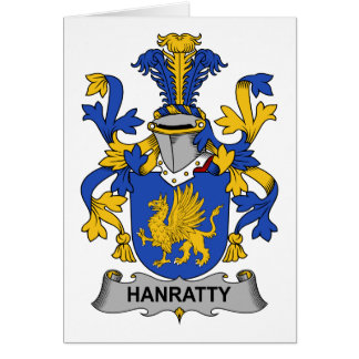 Hanratty Family Crest Card
