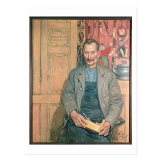 Hans Arnbom, The Carpenter Postcard