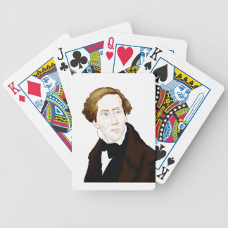 Hans Christian Andersen Bicycle Playing Cards