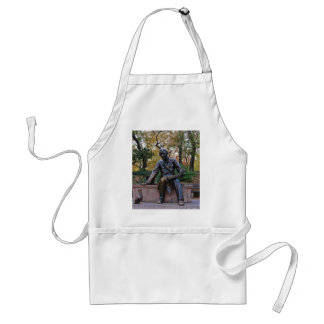 Hans Christian Andersen, Central Park, NYC Adult Apron