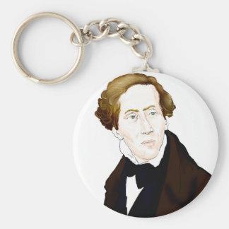 Hans Christian Andersen Key Ring