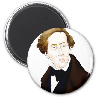 Hans Christian Andersen Magnet