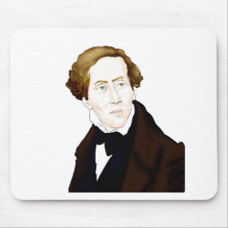 Hans Christian Andersen Mouse Pad