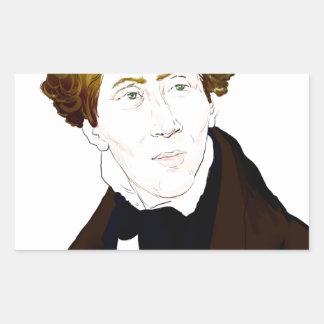 Hans Christian Andersen Rectangular Sticker