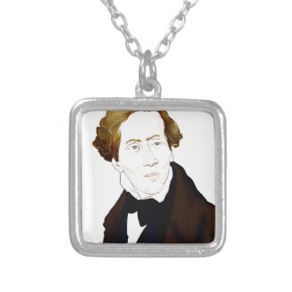 Hans Christian Andersen Silver Plated Necklace