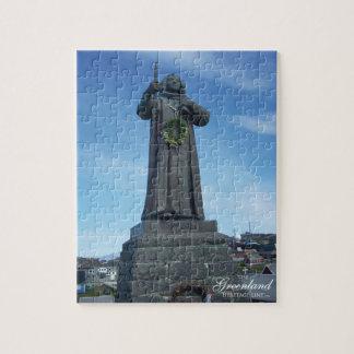 Hans Egede's Statue Jigsaw Puzzle