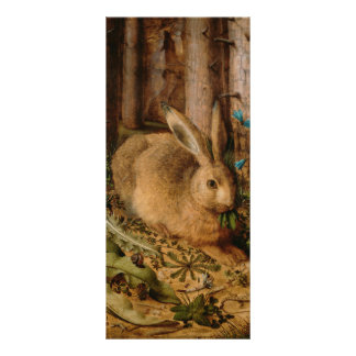 Hans Hoffmann A Hare In The Forest Rack Card