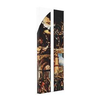 Hans Holbein the Younger - Betrayal and Cross Gallery Wrap Canvas