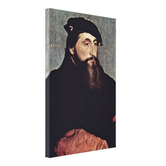 Hans Holbein the Younger - Duke of Lorraine Gallery Wrap Canvas