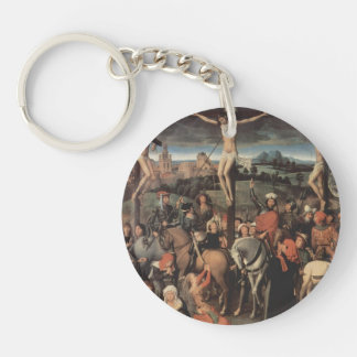 Hans Memling-Altar triptych from Lübeck Cathedral Acrylic Key Chains