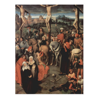 Hans Memling-Altar triptych from Lübeck Cathedral Postcard