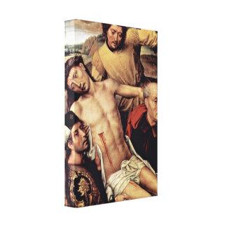 Hans Memling - Granada: the Cross Gallery Wrap Canvas